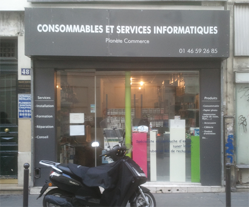 Point de retrait à Paris - Boutique Planète Commerce
