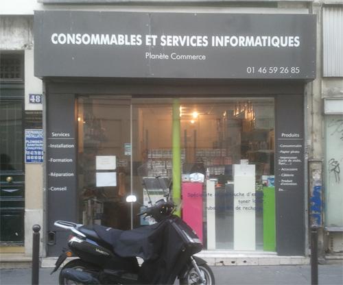 Point de retrait à Paris - Boutique Planète Commerce