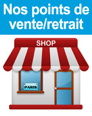 Points de retrait sur Paris