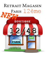 NOUVEAU Point de retrait sur Paris