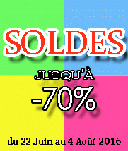Soldes �t� 2016 made in France!